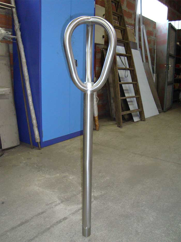 Cintrage tube inox ø 35x2 rayon court